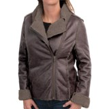 dylan Luxe Shearling Moto Jacket (For Women)