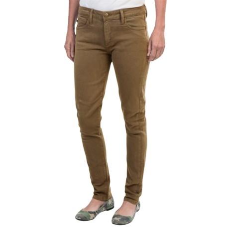 Agave Verona Curve Cut Urban Suede Stretch Jeans - Skinny Leg (For Women)