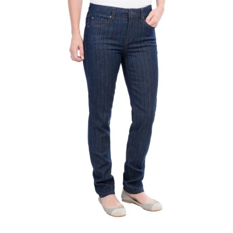 Miraclebody by Miraclesuit Skinny Minnie Skinny Jeans - Variegated Denim (For Women)