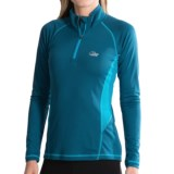 Lowe Alpine DRYflo® 150 Base Layer Top - Zip Neck, Long Sleeve (For Women)