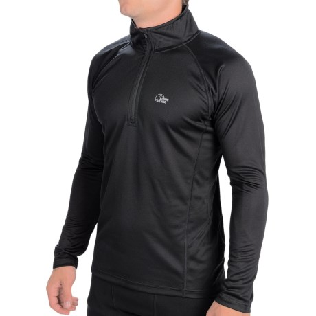 Lowe Alpine DRYflo® 150 Base Layer Top - Zip Neck, Long Sleeve (For Men)
