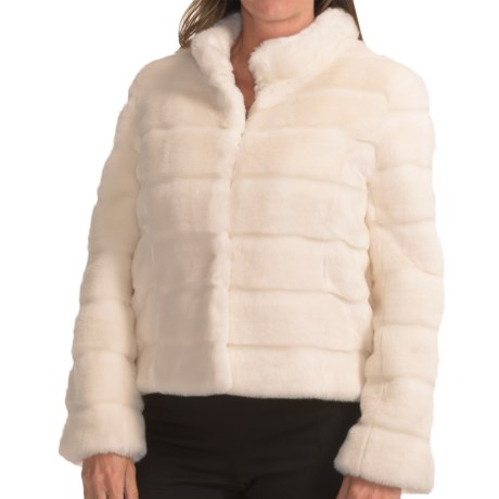 Kristen Blake Quilted Faux-Fur Jacket (For Women)