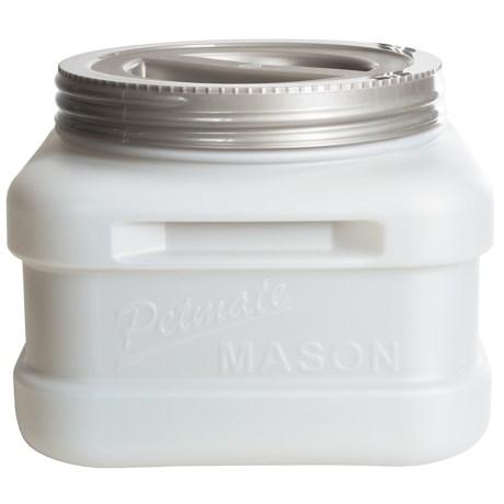 Petmate Mason Jar Food Storage - 20 lb., BPA-Free