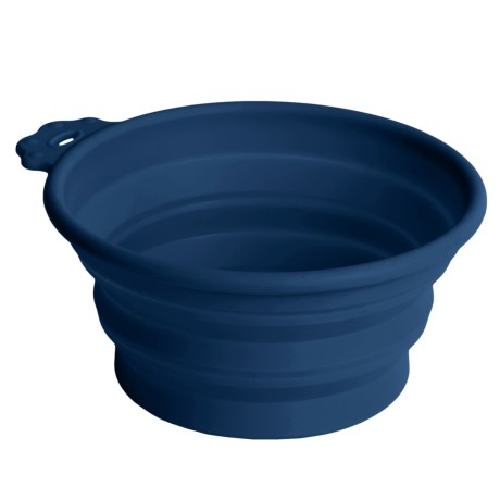 Petmate Round Silicone Travel Bowl - 3 Cup