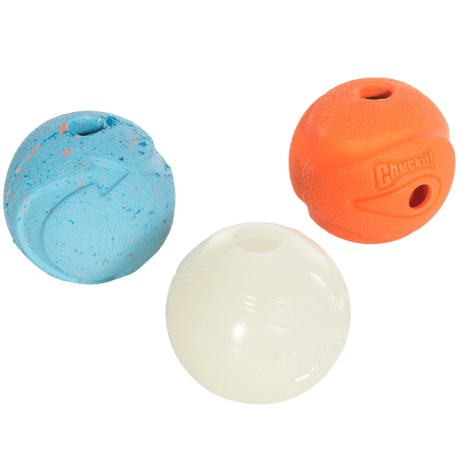 Chuckit! Fetch Medley Assorted Dog Toys - 3-Pack