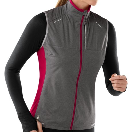 SmartWool PhD Divide Running Vest - Merino Wool (For Women)