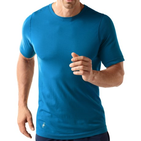 SmartWool PhD Running Shirt - Merino Wool, Short Sleeve (For Men)