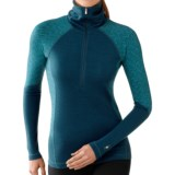 SmartWool NTS 250 Funnel Neck Base Layer Top - Midweight, Merino Wool, Long Sleeve (For Women)