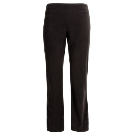 White Sierra Alpha Tek Microtek Pants - Fleece (For Plus Size Women)