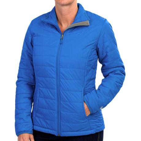 White Sierra Puffy Peak Jacket (For Women)