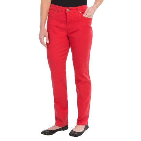 Colored Jeans - Straight Leg (For Women)