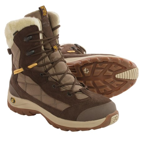 Jack Wolfskin Icy Park Texapore Snow Boots - Waterproof, Insulated (For Women)