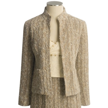 Lafayette 148 New York Tweed Jacket - Petite (For Women)