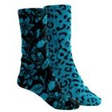 Muk Luks Pattern Fleece Socks - 2-Pack (For Women)