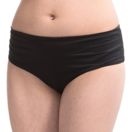Roxy Mid-High Waist Bikini Bottoms (For Women)