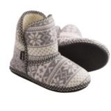 Muk Luks Knit Slipper Short Boots (For Women)