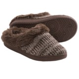Muk Luks Clog Slippers - Faux-Fur Lining (For Women)