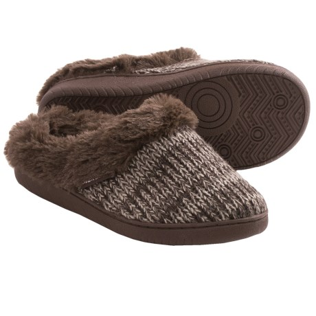 Muk Luks Clog Slippers - Faux-Fur Lining (For Women)