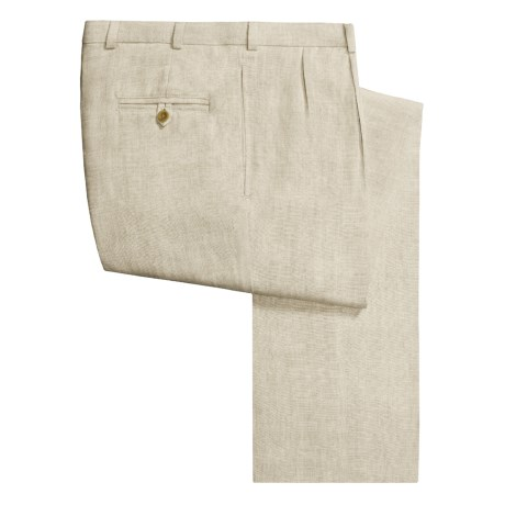 Bills Khakis M2 Linen Pants - Pleated Front (For Men)