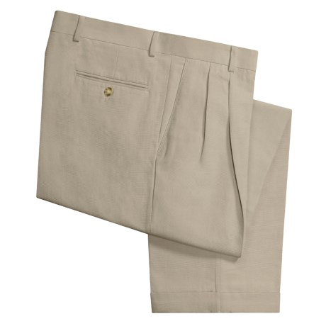 Rendezvous by Ballin Microlinen Pants - Pleated Front (For Men)