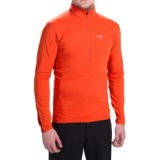 Arc'teryx Morphic Shirt - UPF 50, Zip Neck, Long Sleeve (For Men)