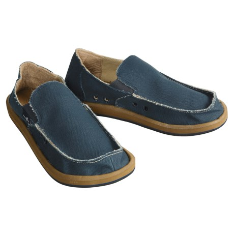 Sanuk Vagabond Sidewalk Surfer Shoes - Slip-Ons (For Men)