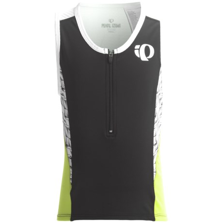 Pearl Izumi Jr. Triathlon Singlet - Zip Neck, Sleeveless (For Big Kids)