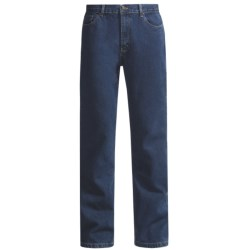 Five-Pocket Denim Jeans - Classic Fit (For Men)
