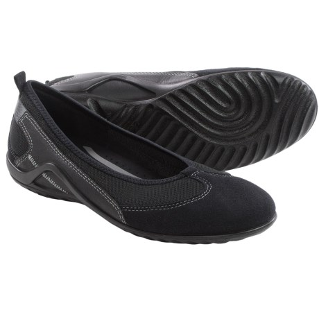 ECCO Vibration II Skimmer Shoes - Leather, Slip-Ons (For Women)