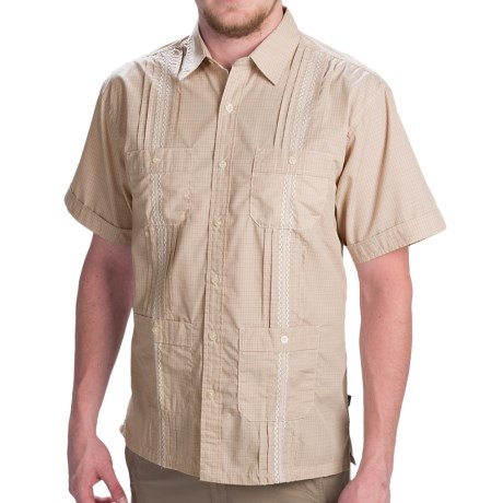 Howler Brothers Guayabera Embroidered Shirt - Short Sleeve (For Men)