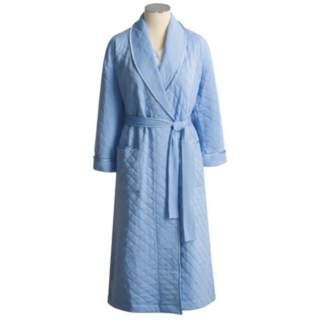Vermont Country Store Pima Cotton Bath Robe (For Women)