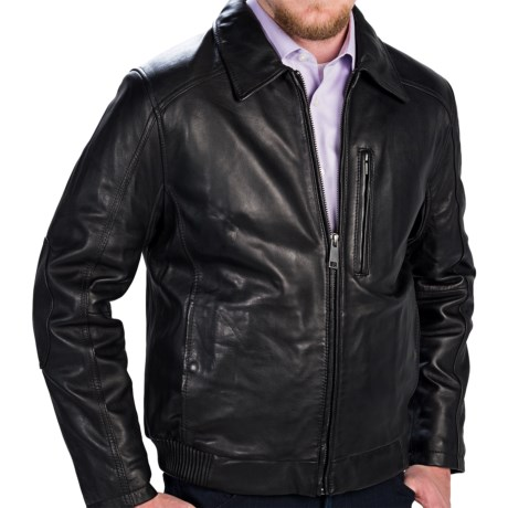 Marc New York by Andrew Marc Serge Bomber Jacket - Leather (For Men)