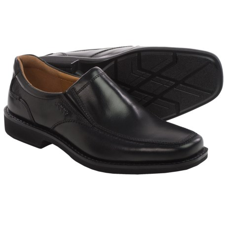 ECCO Seattle Leather Shoes - Slip-Ons (For Men)