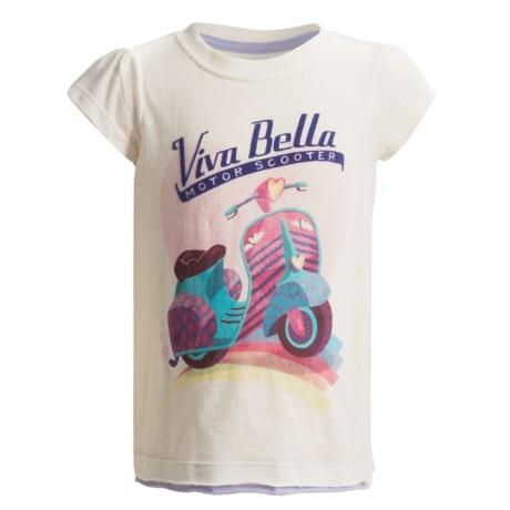 Hatley Graphic Print T-Shirt - Short Sleeve (For Toddler Girls)