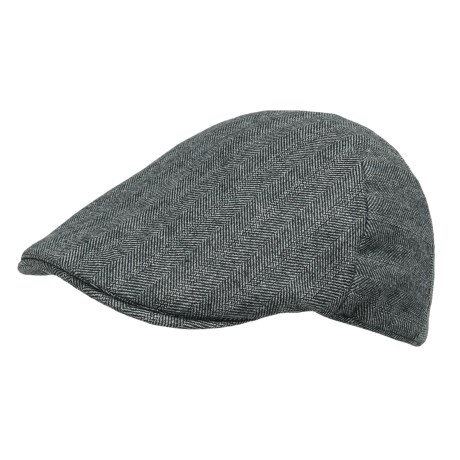 Weatherproof Quilt-Lined Driving Cap (For Men)