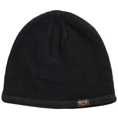 Weatherproof Solid Beanie - Wool Blend, Fleece Lined (For Men and Women)
