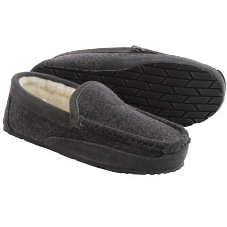 Clarks Driving Moc Slippers - Fleece (For Men)