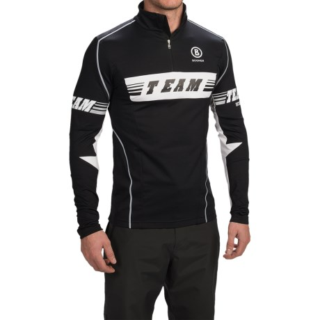 Bogner Tim Jersey Shirt - Zip Neck, Long Sleeve (For Men)