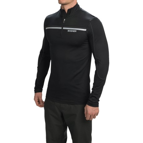 Bogner Rasmus Jersey Shirt - Zip Neck, Long Sleeve (For Men)