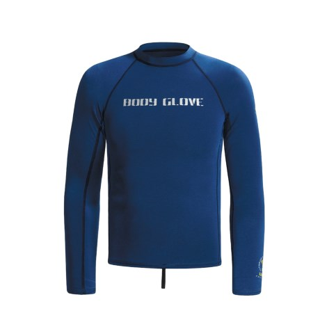 Body Glove Basic Deluxe Rash Guard - Long Sleeve (For Men)