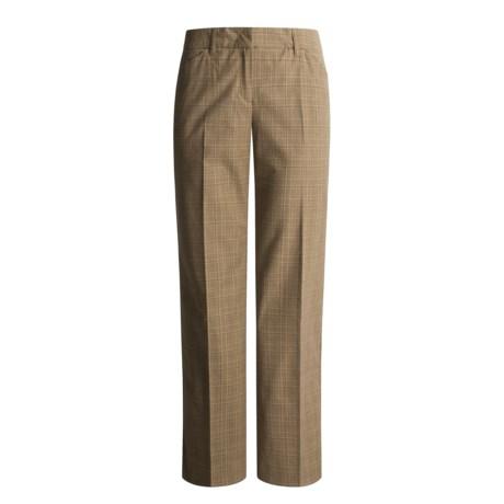 Thalian Classic Trouser Pants - Plaid (For Women)