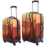 """Travelpro NG Explorer Hardside Spinner Luggage - 2-Piece Set, 20"""" and 24"""""""