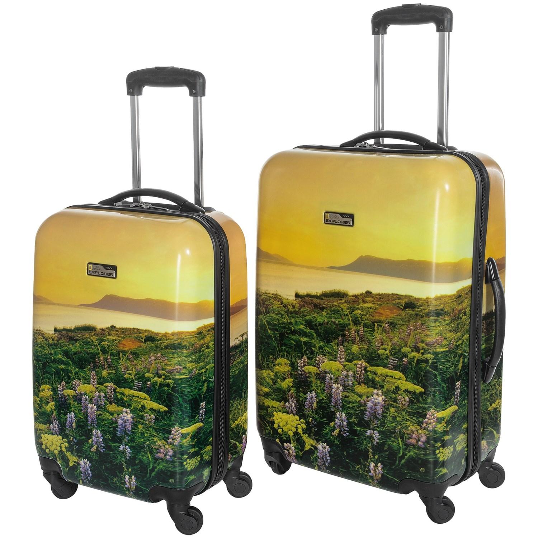 Travelpro Ng Explorer Hardside Spinner Luggage 2 Piece Set 20 And 24 9399k Save 66