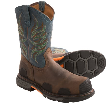 Ariat Overdrive Pull-On Work Boots - Review of Ariat Overdrive ...