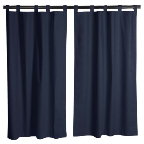"Kimlor Insulated Curtains - 63"", Tab Top"