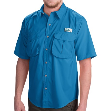 Branson Bay Fishing Shirt - Short Sleeve (For Men)