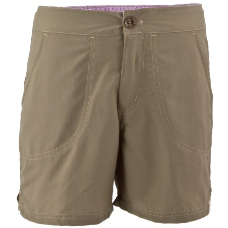 White Sierra Sand & Sun Shorts - UPF 30 (For Little and Big Girls)