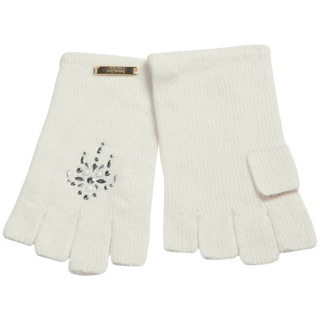 Laundry by Design Shorty Driver Gloves - Jewel Embellishments (For Women)