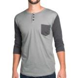 Burton Essex Baseball Henley Shirt - 3/4 Sleeve (For Men)