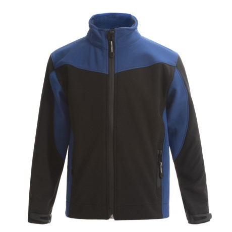 Roper Soft Shell Jacket - Fleece Lined (For Little and Big Boys)